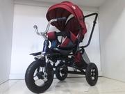Новый трехколесный велосипед/Спинка откидывается/Отличный подарок